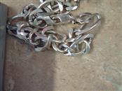 """17"""" Silver Figaro Chain 925 Silver 51.3g"""